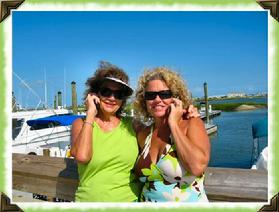 Nancy Davis (Owner of Seaside Realty Co.) and Pam Davis Guthrie
